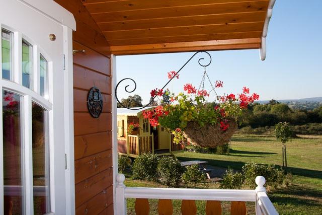 balcon roulotte